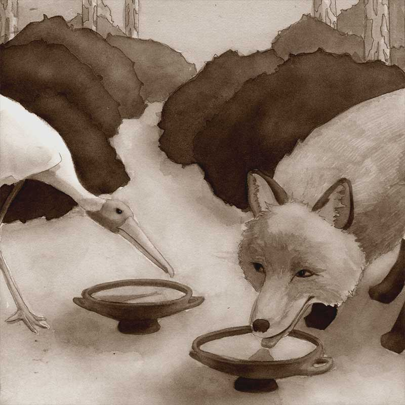 aesop-foxandstork1